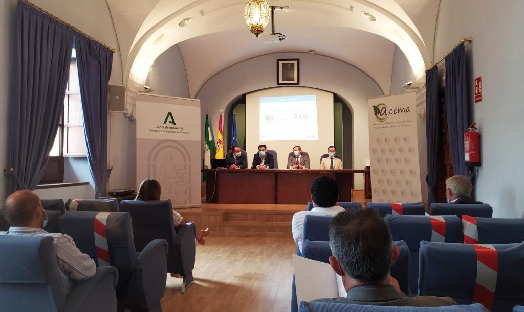 Reunión solicitando apoyo para el Plan Renove Mueble Andalucía